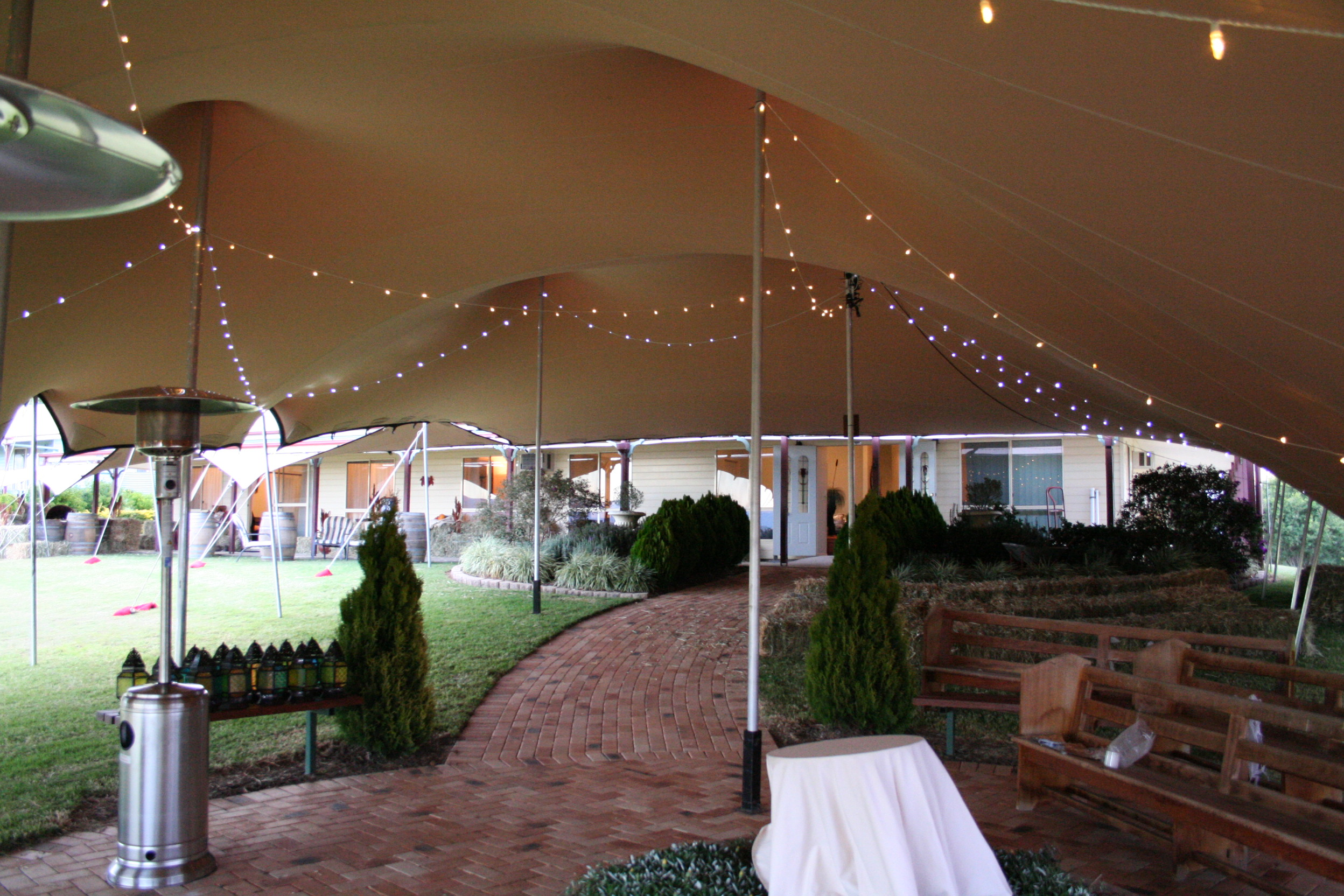 Bedouin Stretch Tent for weddings and parties
