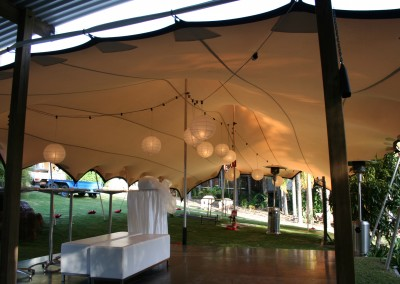Marquee tent hire for events