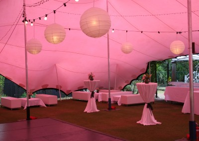 Freeform Marquee hire for weddings and parties