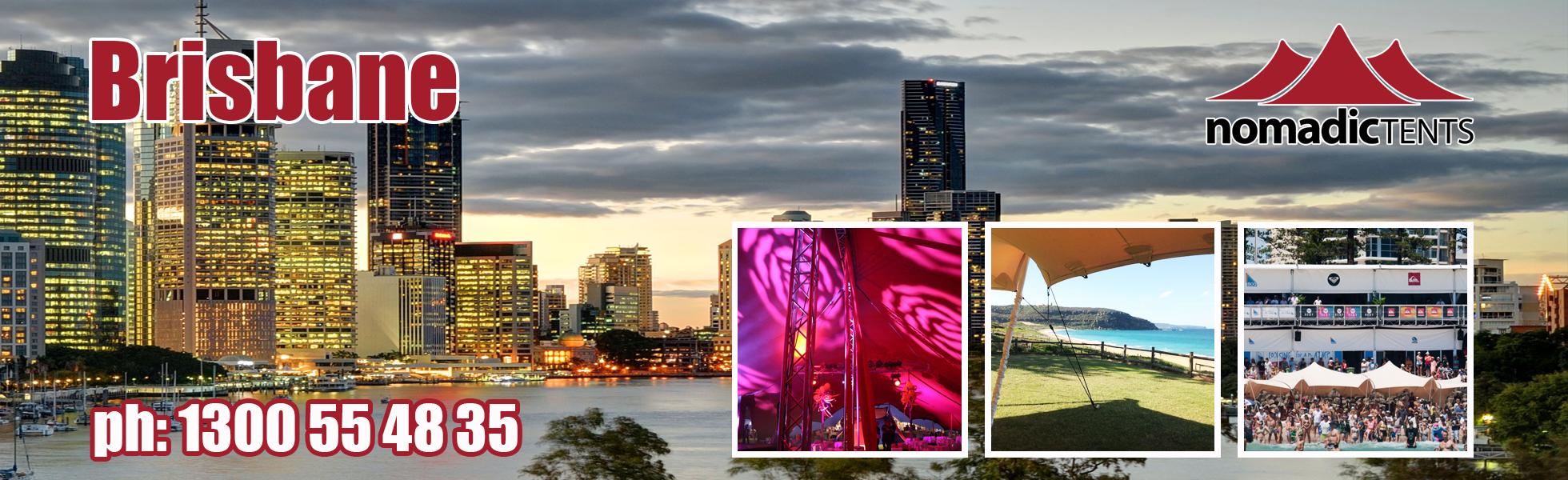 Nomadic Tents in Brisbane