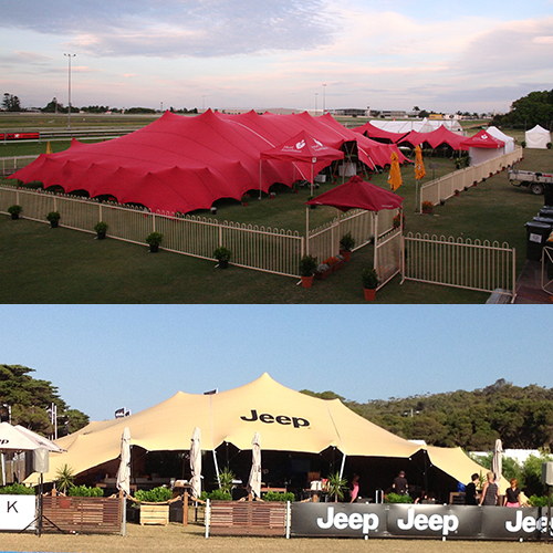 Large Freeform Marquees for corporate events