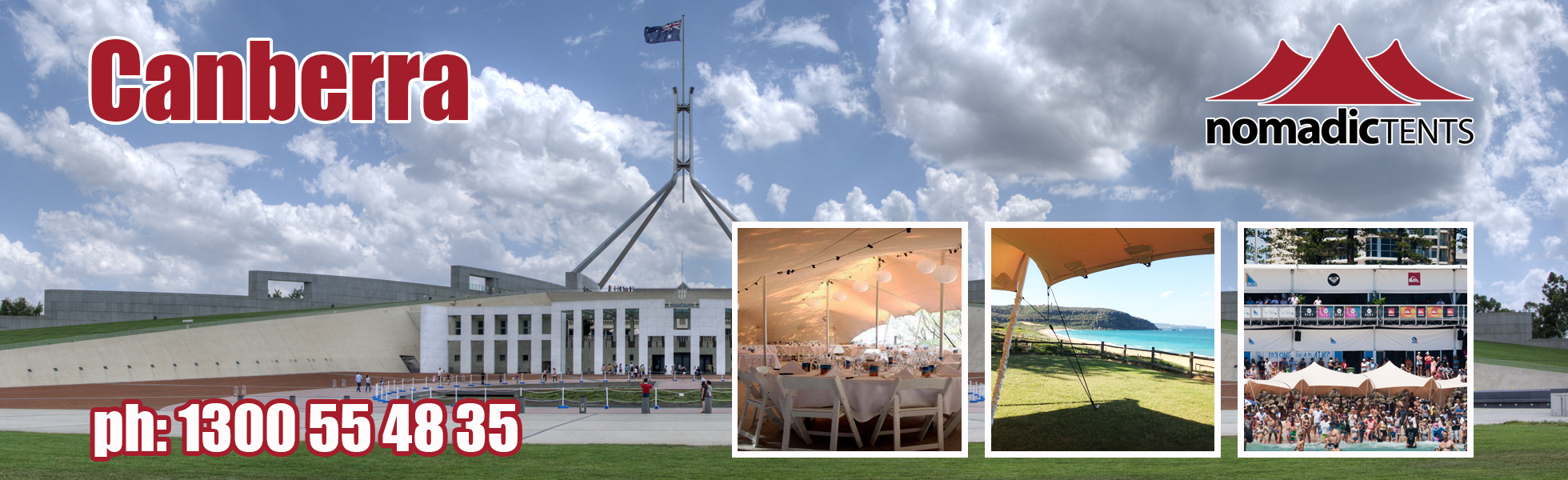Nomadic Tents in Canberra & Stretch Tents u0026 Marquee Hire Canberra - Nomadic Tents Australia