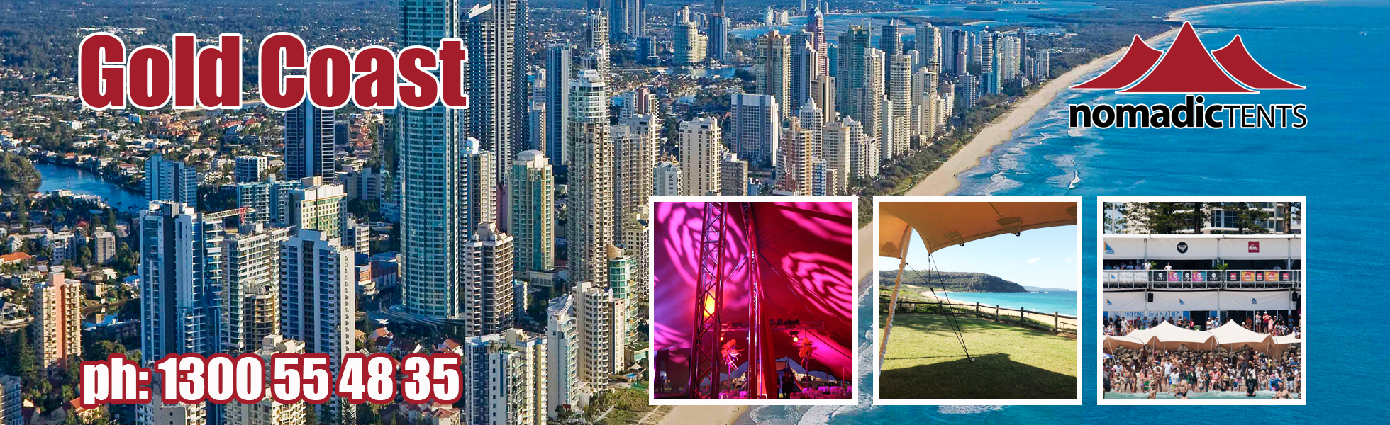 Nomadic Tents in Gold Coast