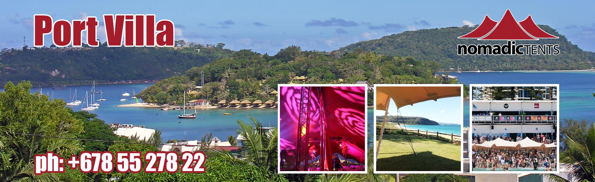 Nomadic Tents in Port Vila