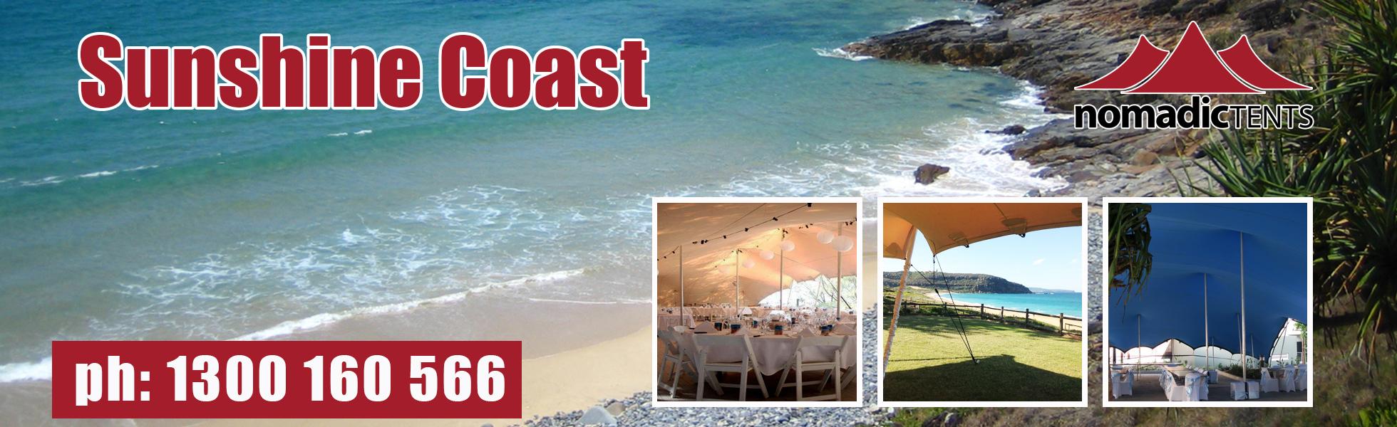 Nomadic Tents in Sunshine Coast